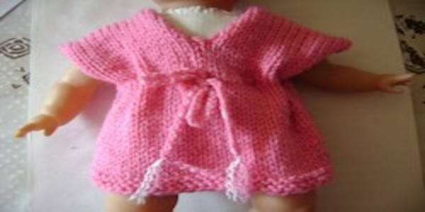 Tricoter une robe pour poupée